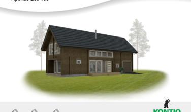Srubový dům Apertus EOS 133