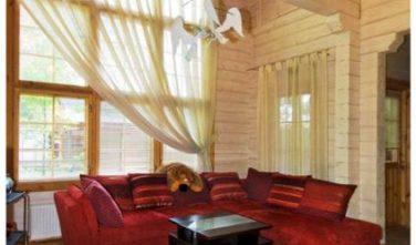 Dřevostavba z masivu SALIX interiér