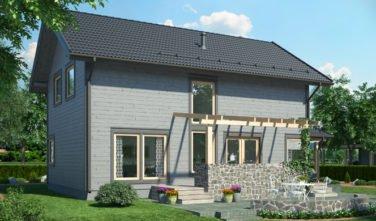 Srubový dům Scandium Eos 142