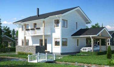Srubový dům Scandium Eos 147