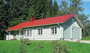 Srubový dům AALTOLA exteriér