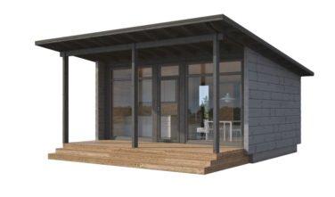 Dřevostavby Kontio Glass House 25C