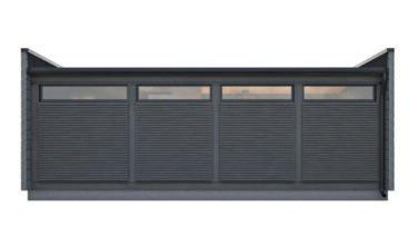 Dřevostavby Kontio Glass House 50 s obložením