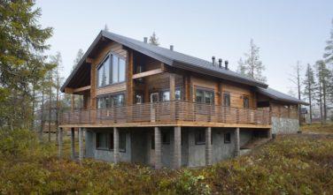 Luxusní srubový dům KONTIO - tak trochu jiná horská chata