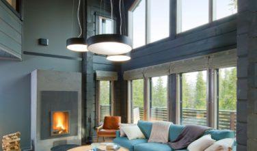 Luxusní srubový dům KONTIO krásný v každém pohledu