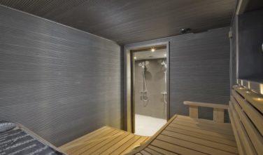 Finský srub KONTIO se saunou