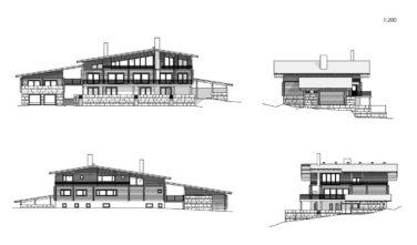 Srubové domy KONTIO - Villa Copperhill 2D model