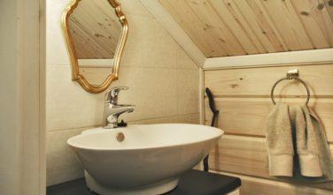 WC srubové domy KONTIO