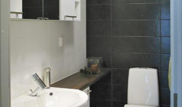 Srubový dům KONTIO toaleta