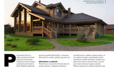 Můj dům - renesance masivních dřevostaveb
