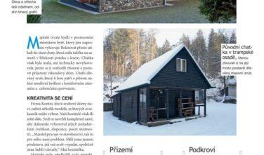 Srubové chaty KONTIO v magazínu Dům a bydlení