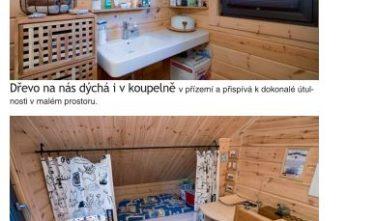 Tak může vypadat druhé bydlení od KONTIO LOGHOUSES
