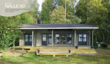Srubové chaty model Nalle 50