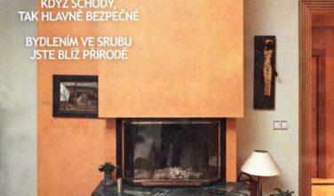 Srubové domy KONTIO v časopise Dům a bydlení