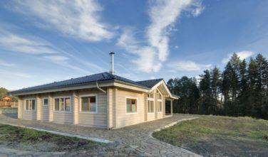 Srubový dům KONTIO - bungalov