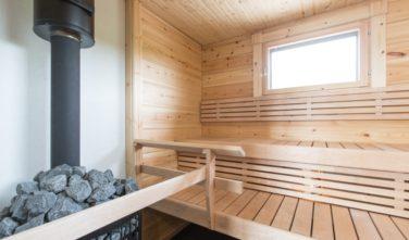 Sruby KONTIO sauna