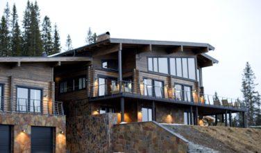 Luxusní srubový dům KONTIO - Mountain ski house