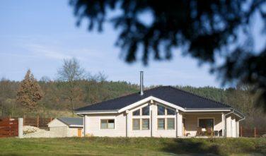 Srubové domy KONTIO - bungalov na Slapech