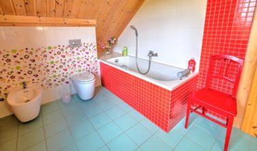 Sruby KONTIO - model Uva - koupelna