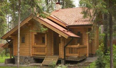 Rekreační srubový dům VIOLA