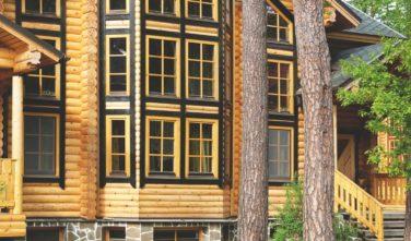 Srubové domy KONTIO model Ulmus kulatina2