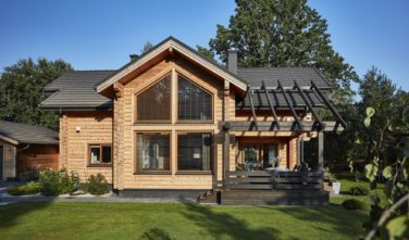 Dřevostavby Kontio River House exteriér