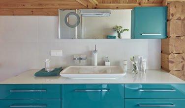 Dřevostavby Kontio River House koupelna