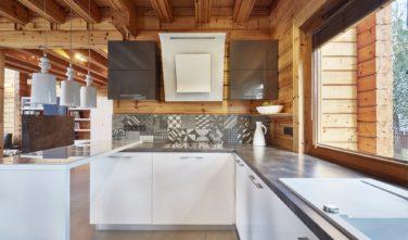 Dřevostavby Kontio River House kuchyň