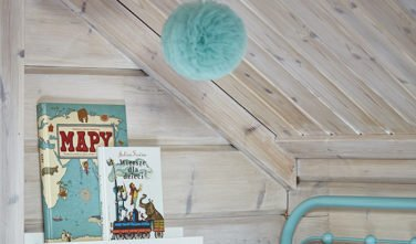 Dřevostavby Kontio River House dětský pokoj