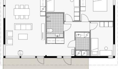 Dřevostavby Kontio Glass House TALO 100C