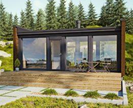Dřevostavby Kontio Glass House 30