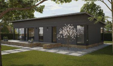 Dřevostavby Kontio Glass House TALO 126B