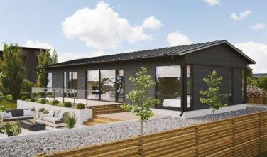 Dřevostavby Kontio Glass House TALO 142A