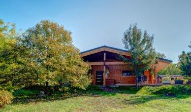Dřevostavby Kontio bungalov na Moravě exteriér