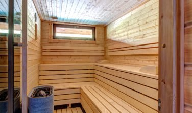 Dřevostavby Kontio bungalov na Moravě sauna