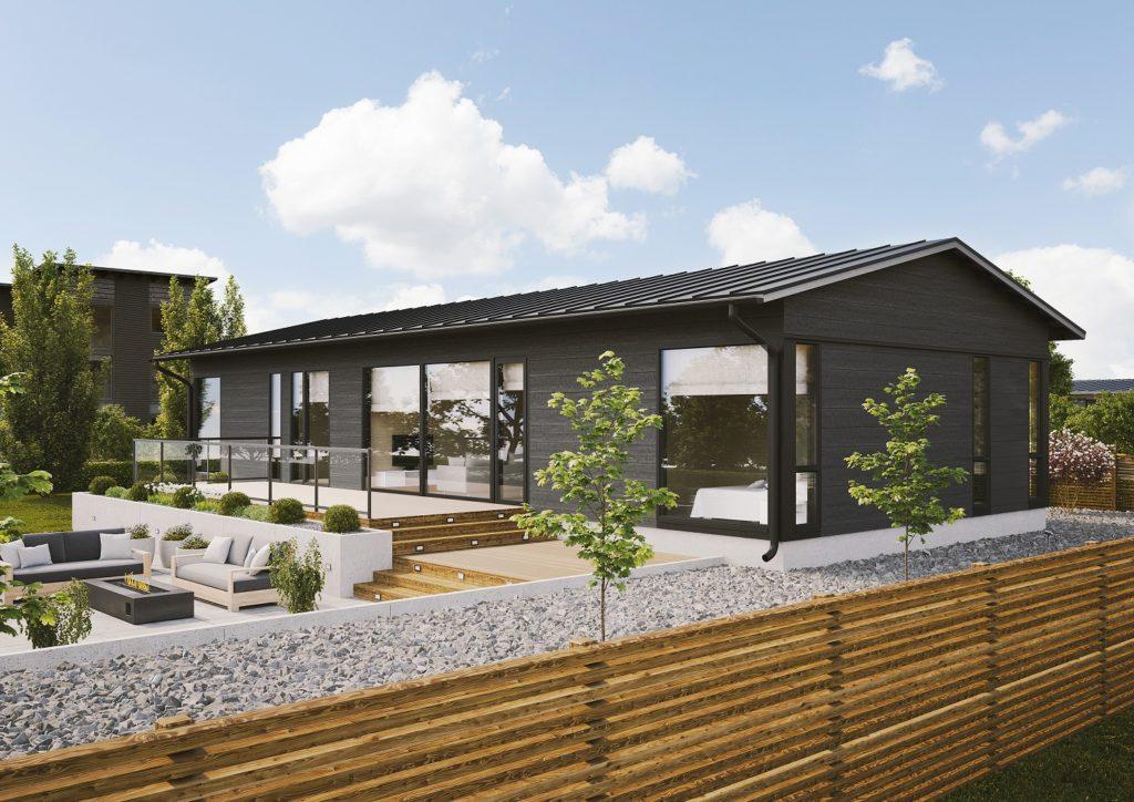Dřevostavby Kontio Glass House TALO 142