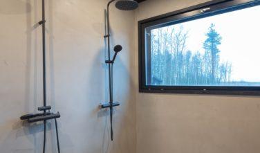 Dřevostavby Kontio SmartLog Oulunsalo koupelna