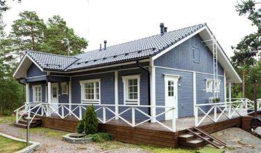 Dřevostavby Kontio rodinné domy
