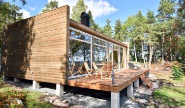 Dřevostavby Kontio rekreační domy Glass House