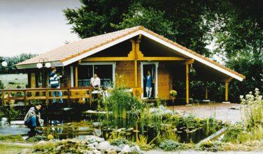 Dřevostavby Kontio bungalov na víkend