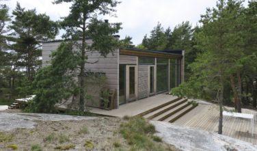 Dřevostavby Kontio Glass House 50