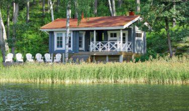 Dřevostavby Kontio srubová chata Kaisla
