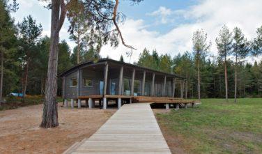 Dřevostavby Kontio bungalovy Hogsara exteriér