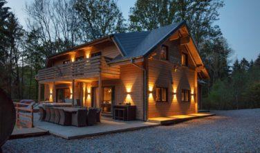 Dřevostavby Kontio víkendová lovecká chata