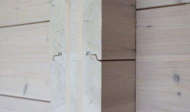 Dřevostavby Kontio rodinný dům SmartLog Švýcarsko Valais trámy