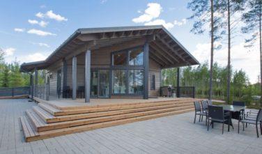 Dřevostavby Kontio srubový dům Saraniemi