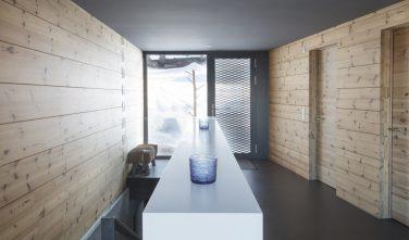 Dřevostavby KONTIO rodinný dům ve Valais hala