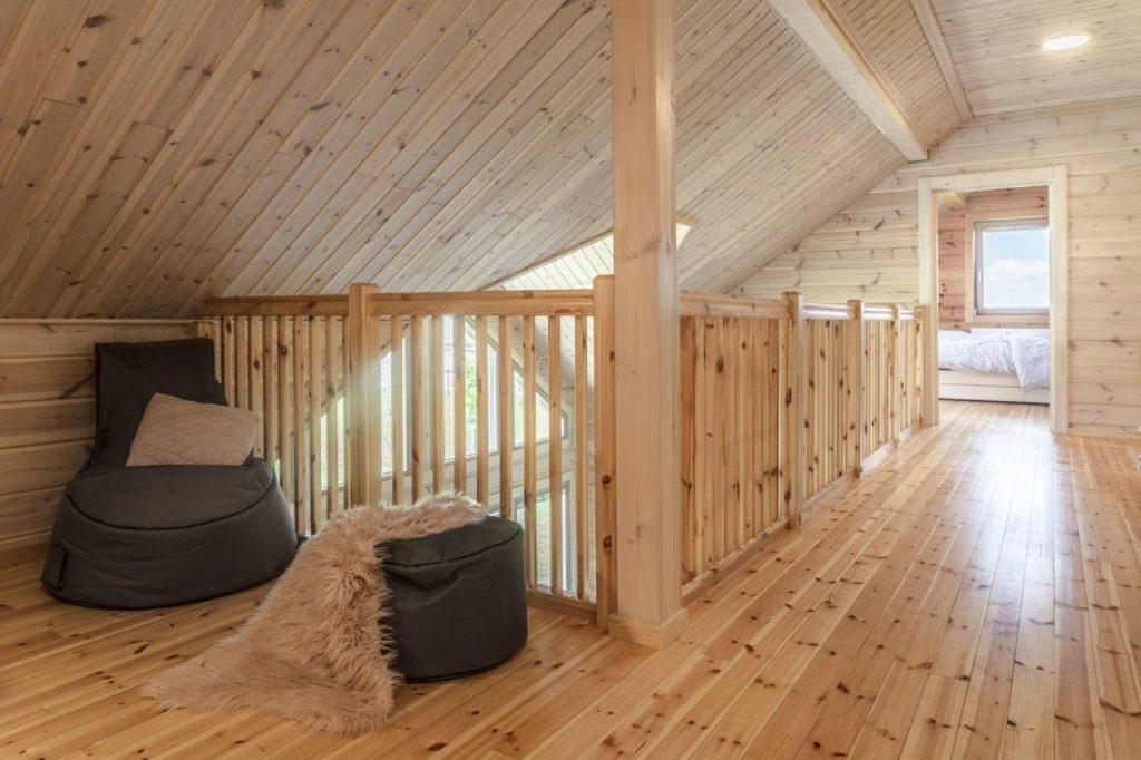 Dřevostavby KONTIO - rodinný dům Iso-Kajastus - exterier - pohled na průčelí